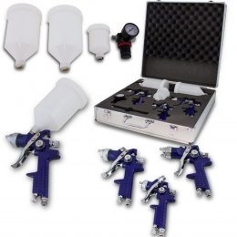 HVLP paint gun set of 3