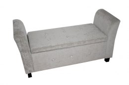 Sofa Medium Silver SILVER CHENILLE
