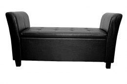 Sofa Medium Black | BLACK PU