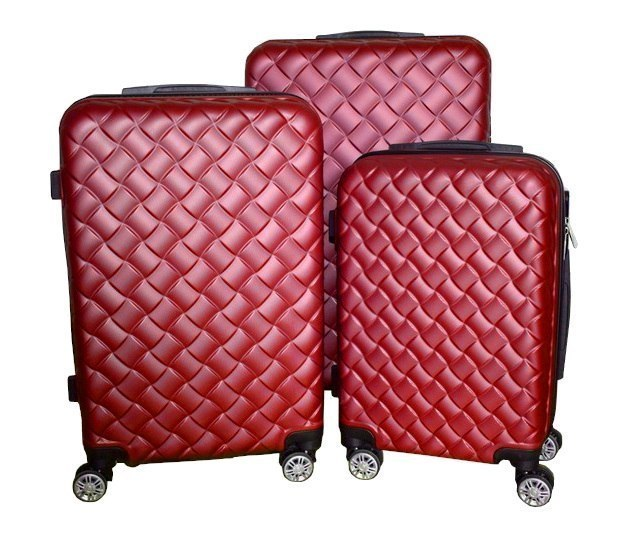 Suitcases Red set of 3
